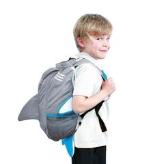 детский рюкзак Paddlepak Shark Акула серый