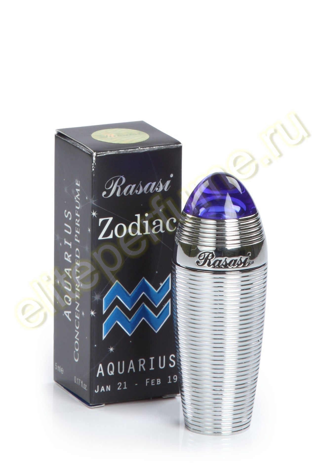 Пробники для арабских духов Зодиак Водолей Zodiac Aquarius 1 мл арабские масляные духи от Расаси Rasasi Perfumes