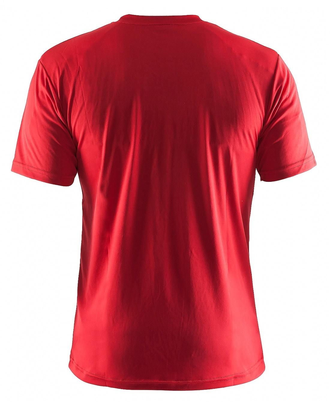 Мужская спортивная беговая футболка Craft Active (199205-1440) красная фото
