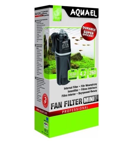 AQUAEL Помпа фильтр FAN-Mini plus (до - 60л) 260л/ч 4,2Вт (30шт/уп)