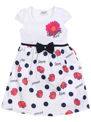 540-2 платье детское, белое