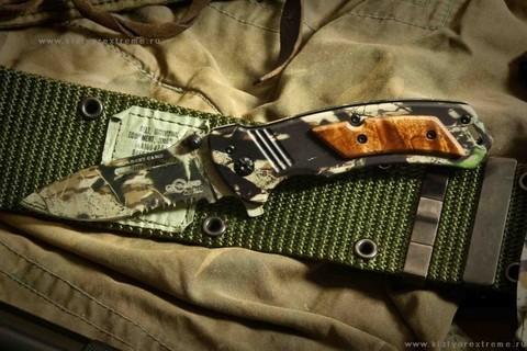 Складной нож Target Camo (сталь 5Cr15mov ~ z50)