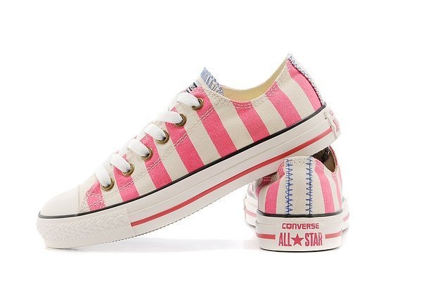 CONVERSE CHUCK TAYLOR ALL STAR LOW STRIPED PINK (013)