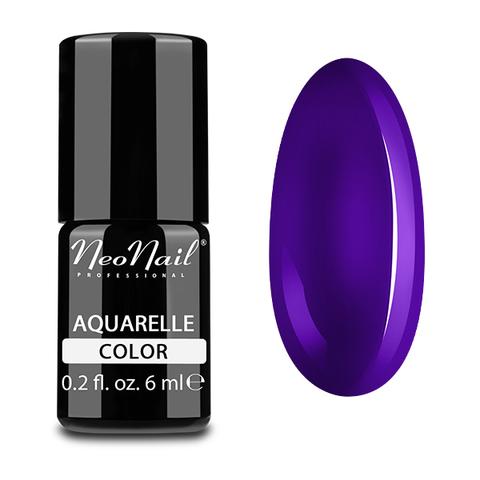 NeoNail Гель-лак акварельный UV 6ml Violet Aquarelle №5510-1