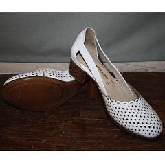 Летние туфли Evromoda 101-6 White.