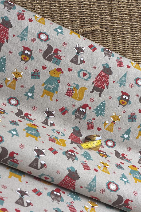 Новогодние ткани в санкт-петербурге