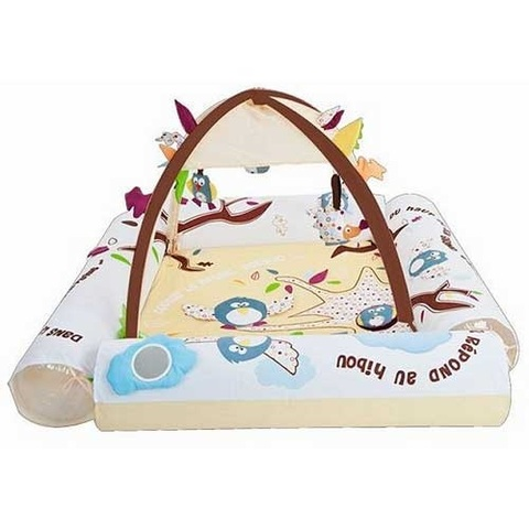 Развивающий коврик с надувными бортиками Ludi Природа