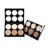 ABSOLUTE NEW YORK Палитра для контурирования лица Strobing And Shading Palette Light to Medium