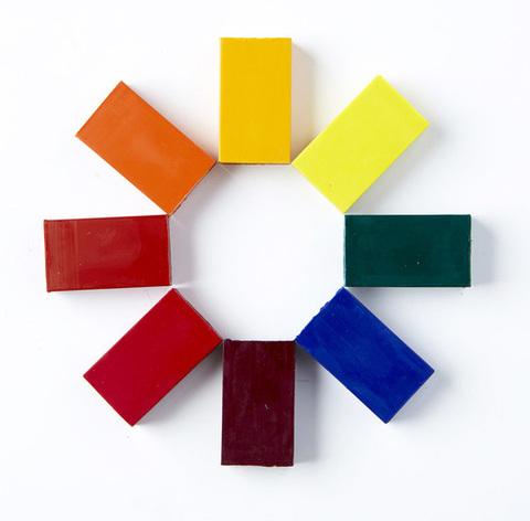 Мелки-блоки, набор 8 цв. (Stockmar)