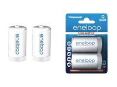 Переходник для аккумулятора Enellop с AA (R6) на D (R20)