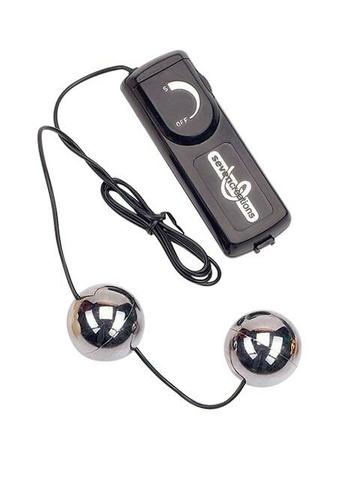 Вагинальные шарики с вибрацией ORGASM серебрянные