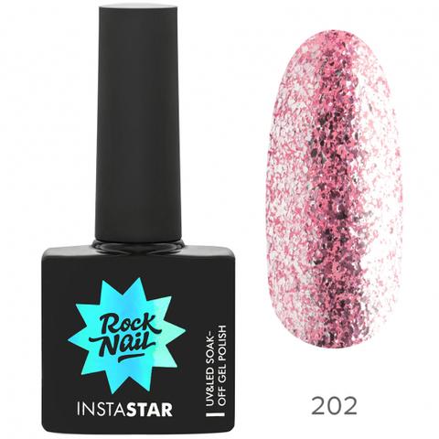 Гель-лак RockNail Insta Star 202 Britney