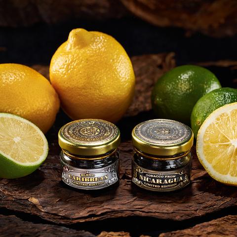 Табак WTO Caribbean Blend Lemon Lime (ВТО Карбиский Блен Лимон Лайм) 20 г