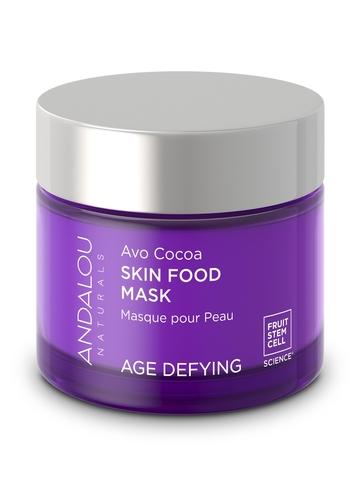 Питательная маска для лица с какао и авокадо Andalou Naturals