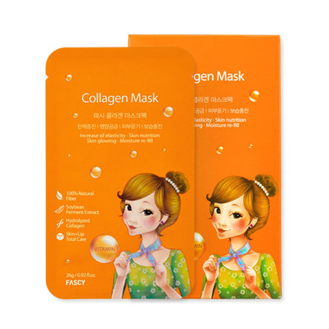 Маска FASCY Collagen Mask 26g X 10 шт.