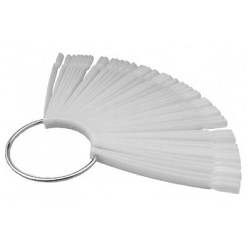 Палитра веер на кольце матовая, 50 шт