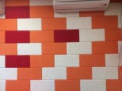 Акустическая панель из полиэфирного волокна POLYSTER 300x300x9