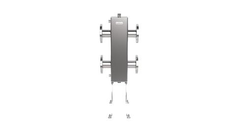 GRSS-400-65 (нерж., до 400 кВт, фланец Ду-65, сечение корпуса 150х150 мм)
