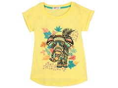 702-2 футболка детская, желтая