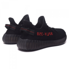 Мужские Adidas Yeezy Boost 350 V2 by Kanye West Core Black/Red On/Core Black