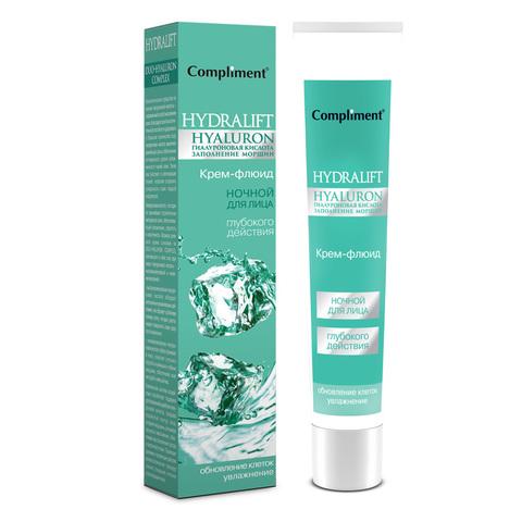 Compliment HYDRALIFT HYALURON Крем-флюид для лица ночной