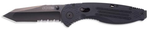 Купить Складной нож SOG Мод. AEGIS TANTO BLACK 97021 по доступной цене