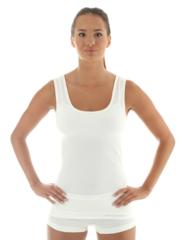 Женская термомайка Brubeck Comfort Wool (TA10240) белая