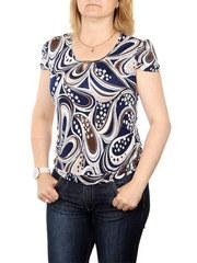 A7-2 блузка женская, темно-синяя