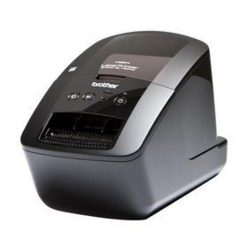 Принтер для печати наклеек Brother QL-720NW (авторезак, ширина лент до 62 мм, до 93 наклеек/мин, 110 мм/сек, 300 т/д, ленты DK, LAN, WiFi, RS232C, USB) - QL720NWR1