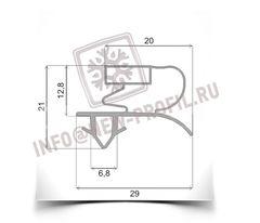 Уплотнительный профиль_007 (тип ЕК) для холодильного оборудования.