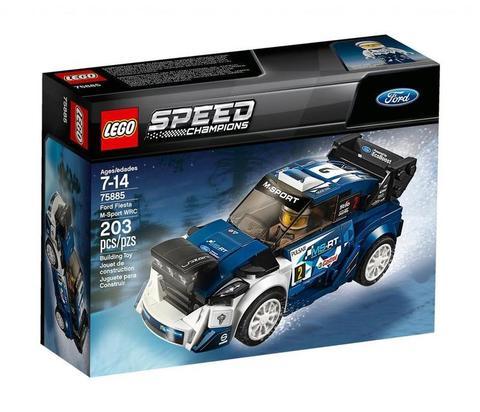 LEGO Speed Champions: Форд Фиеста M-Sport WRC 75885 — Ford Fiesta M-Sport WRC — Лего Спид чампионс Чемпионы скорости