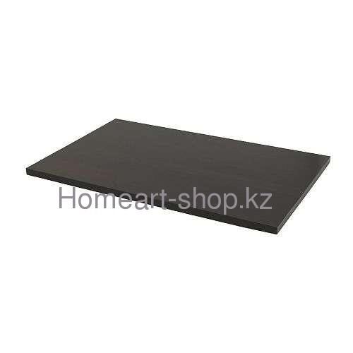 ЛИННМОН  Столешница  черно-коричневый  120x60 см ;