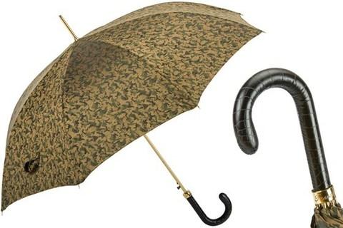 Зонт-трость Pasotti Camouflage Umbrella, Италия (арт.479 51877-1 PC).