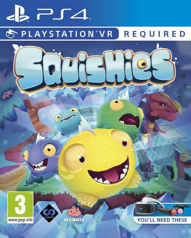 PS4 Squishies (только для PS VR, английская версия)
