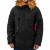 Куртка Аляска Зимняя - Explorer (черная - black)