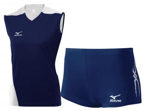 Волейбольная форма Mizuno Premium Trade женская синяя