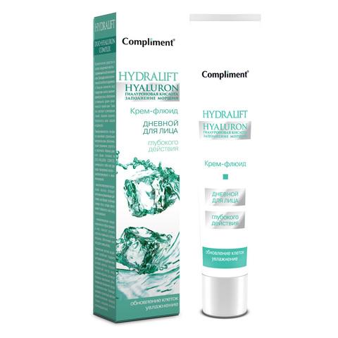 Compliment Hydralift Hyaluron Дневной крем-флюид для лица увлажняющий