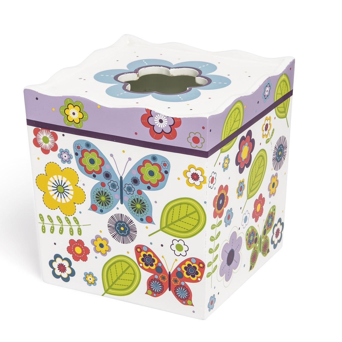 Для ванной Салфетница детская Kassatex Butterflies salfetnitsa-kassatex-butterflies-ssha-kitay.jpg