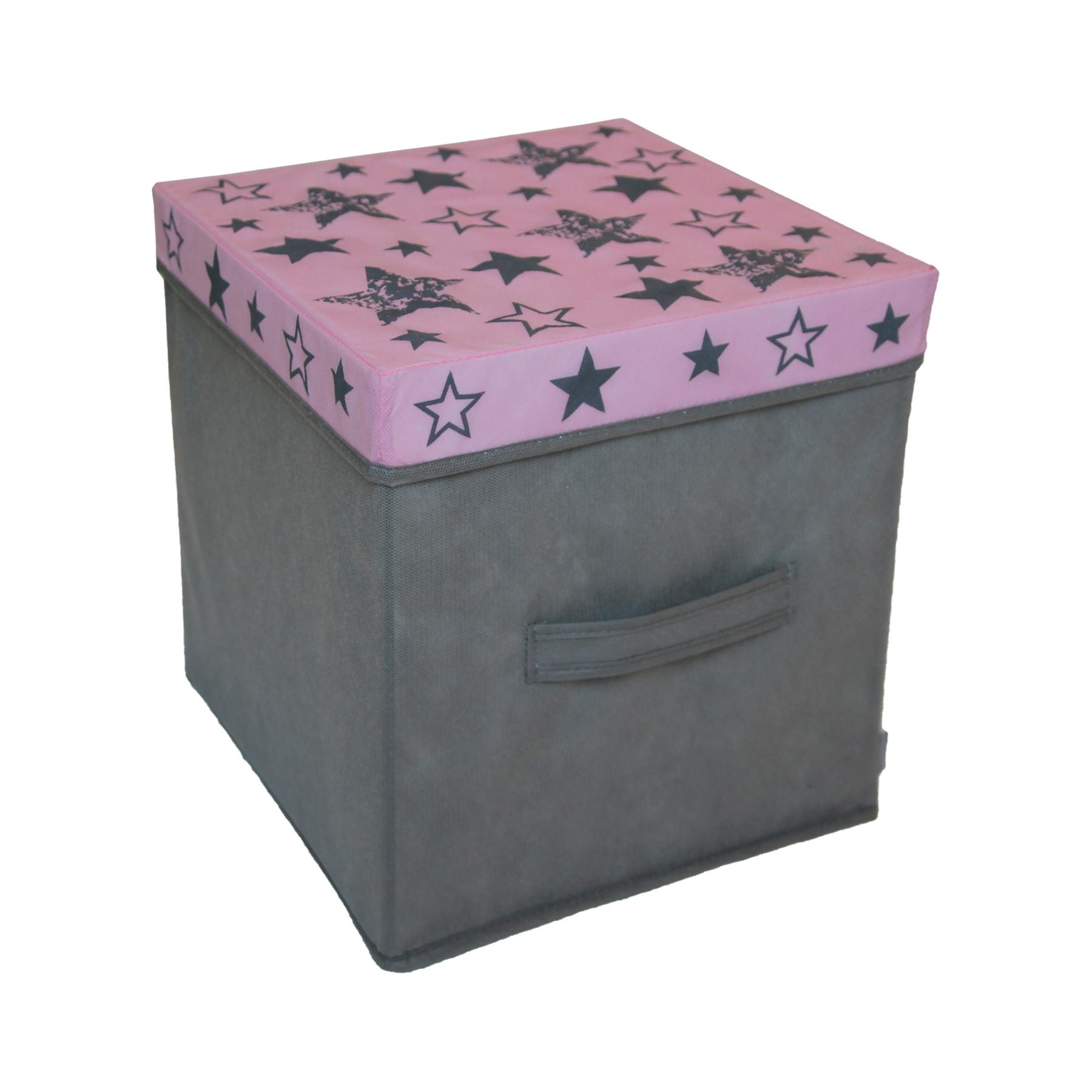 Коробка для вещей и игрушек с крышкой