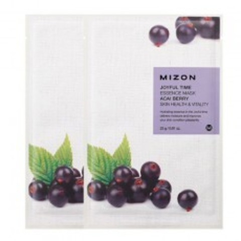 MIZON  Маска  с экстрактом ягоды Асаи joyful time essence mask acai berry 23 g.
