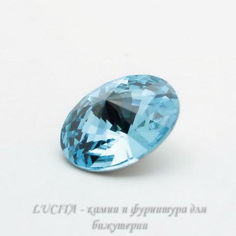 1122 Rivoli Ювелирные стразы Сваровски Aquamarine (SS47) 10,54-10,9 мм ()