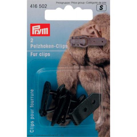 Шубный крючок черный PRYM 416502
