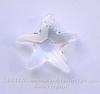 6721 Подвеска Сваровски Морская Звезда Crystal  (16 мм)