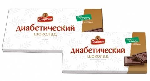 Спартак шоколад диабетический  90г