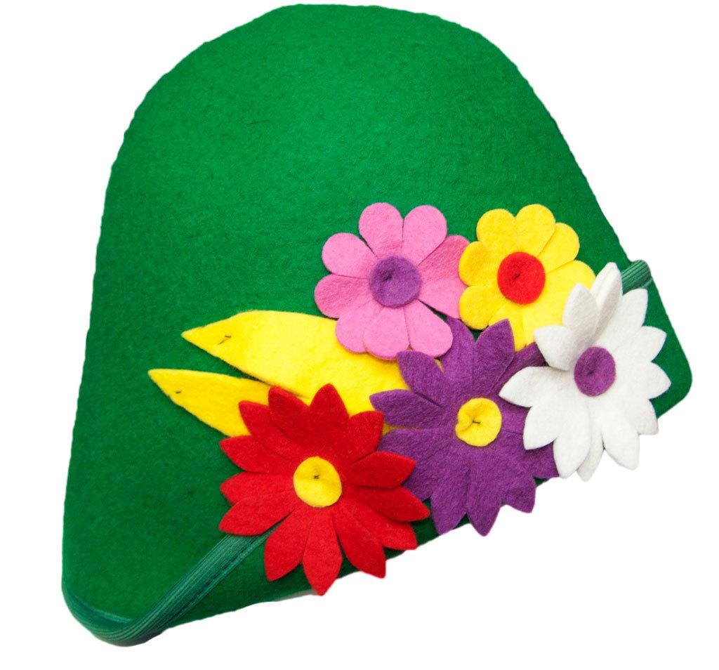 картинки шапочки с цветами европейский