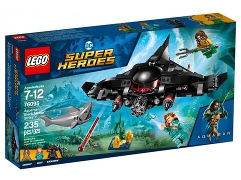 LEGO Super Heroes: Аквамен: Чёрная Манта наносит удар 76095 — Aquaman: Black Manta Strike — Лего Супергерои ДиСи