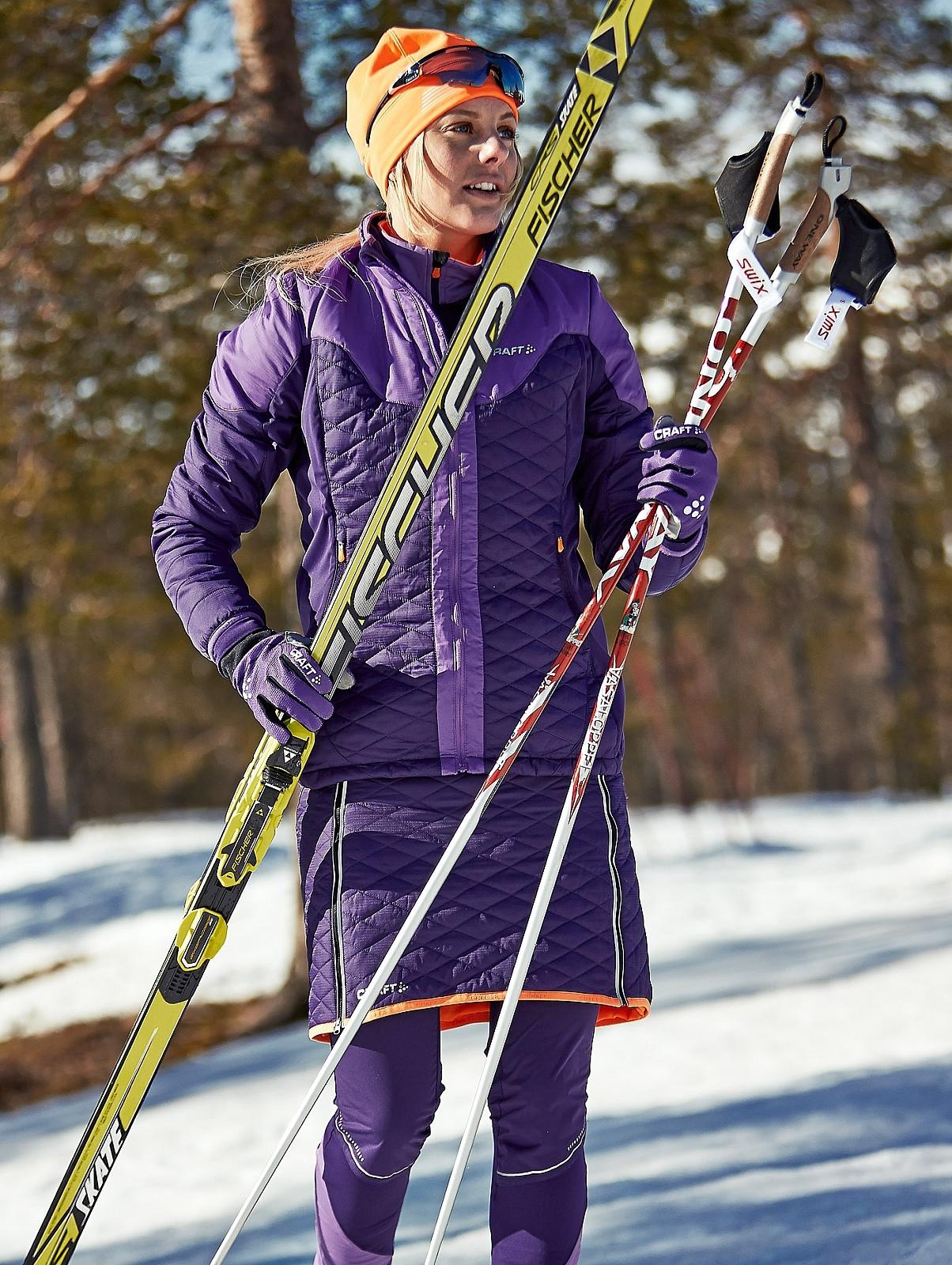 Женская лыжная куртка с утеплителем Craft Insulation XC 1903576-2463