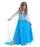 Платье настоящей принцессы Эльзы + подарок Диадема и Волшебная палочка