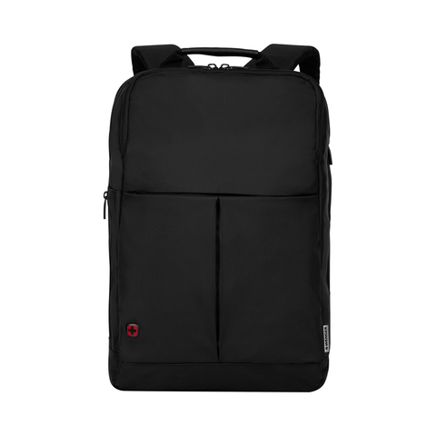 Бизнес рюкзак WENGER Reload, цвет чёрный, отделение для ноутбука 14