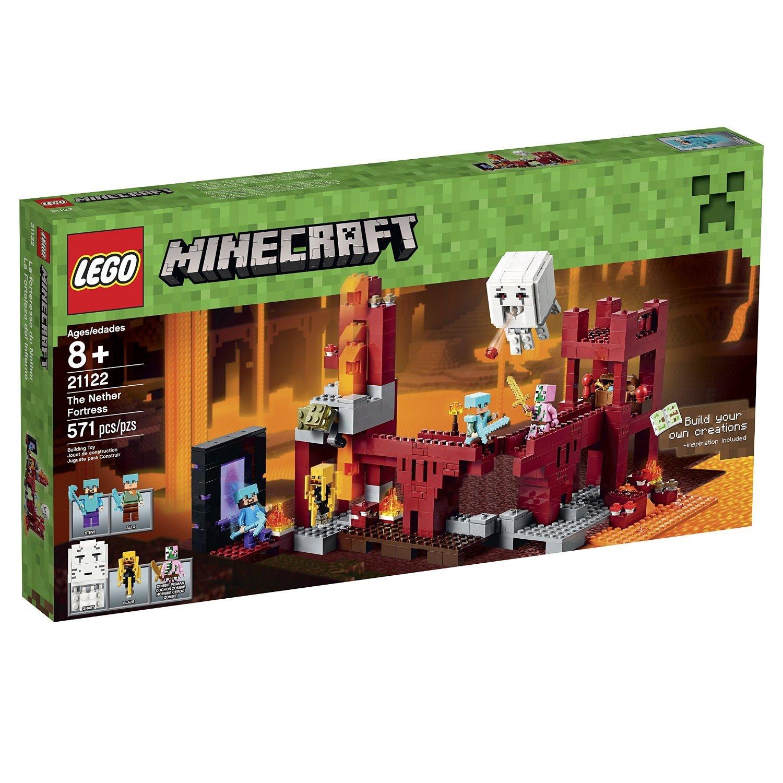 Лего майнкрафт 21122